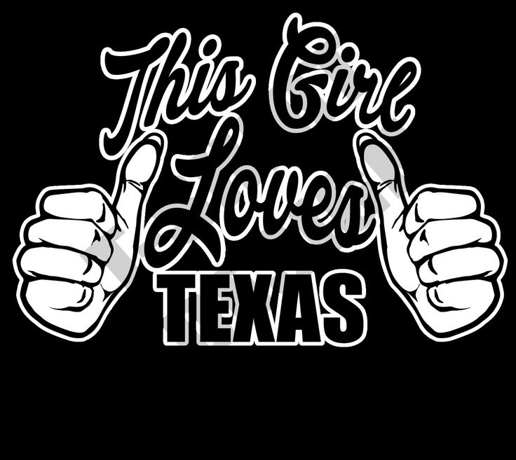 This Girl Loves Texas - PNG T-shirt design by MugsAndAccessories on Etsy
