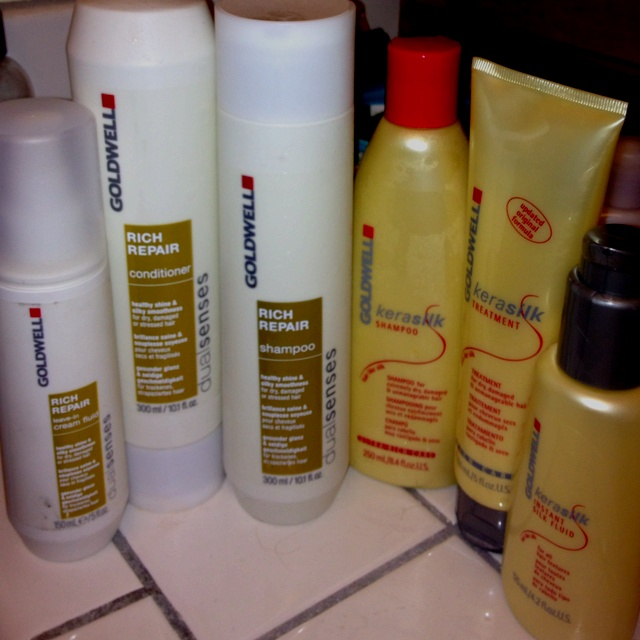 Goldwell hair products....the absolute best!!