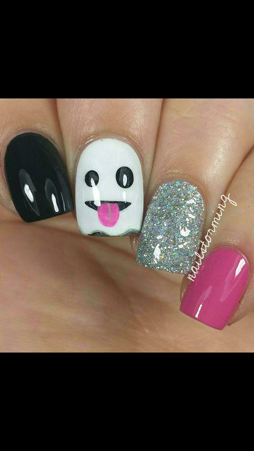 nails coqueto fantasmita!