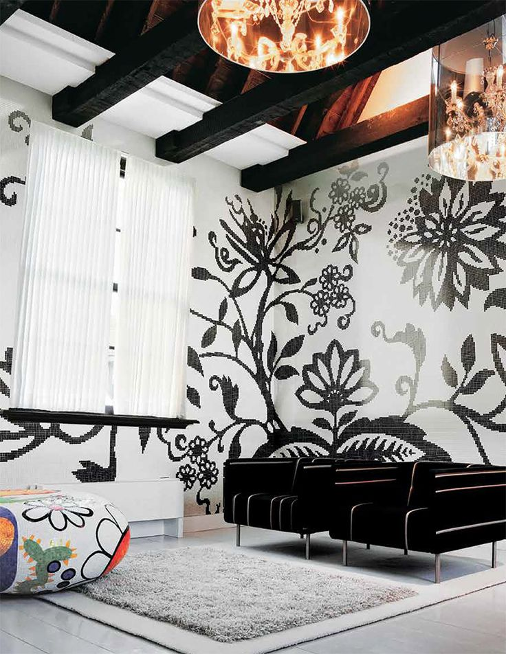 A highly distinctive design, TREE is a creation by internationally renowned designer Marcel Wanders for the Bisazza FLORA collection.  With raw, simple energy, the flowers, leaves and stems of TREE flourish and multiply, contrasting a raw naivety, reminiscent of the gouache cuts of Henri Matisse with a highly sophisticated proportional balance of elements.