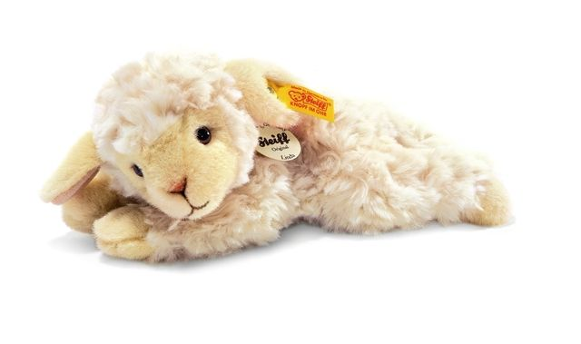 The Steiff Boeky Lamb will be great for your child. Made with the brass plated button in ear.