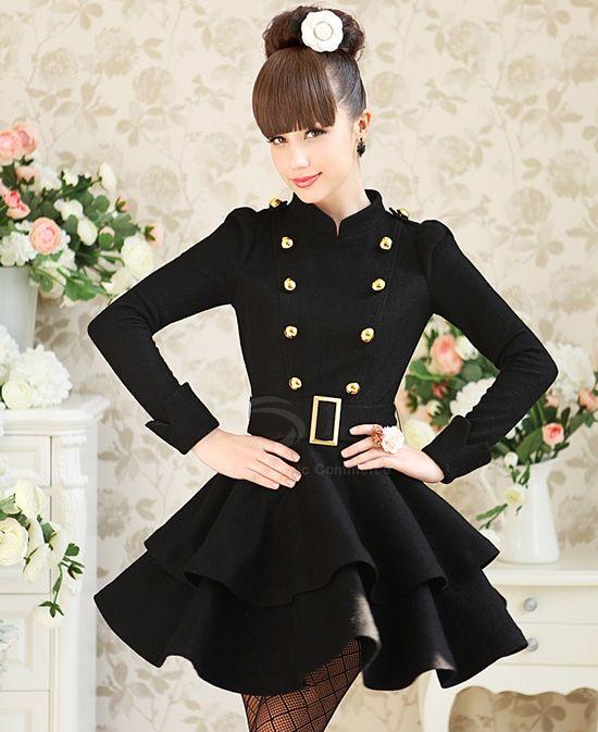 1000  ideas about Black Winter Dresses on Pinterest  Winter ...