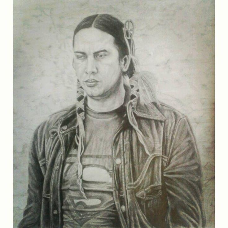 Sioux artwork, by Geromorris