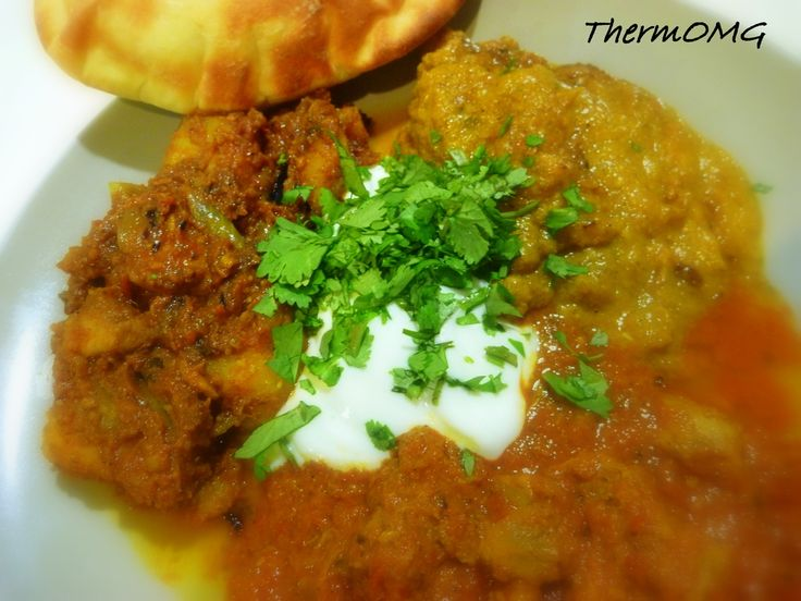 Naan Bread, Korma and Vindaloo — ThermOMG