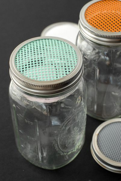 Sprouting 101, Homemade Sprouting Jars {tutorial} & 'DIY Mason Jars' Giveaway | Boulder Locavore