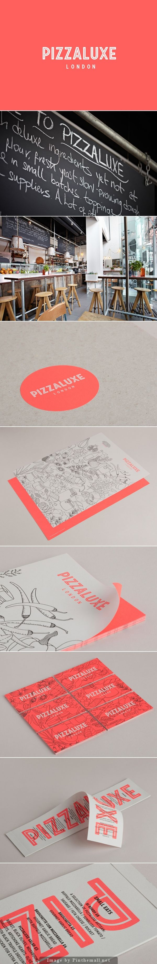 Pizza Luxe designed by Touch #branding #Identity