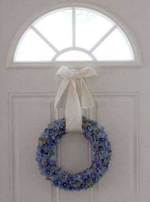 little lovelies: tutorial: spring wreath