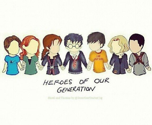 Hazel, Clary, Katniss, Harry, Percy, Tris, Thomas