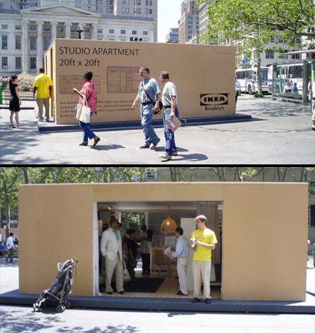 Creative advertising - Ikea