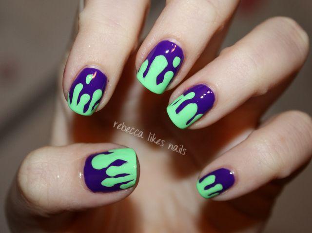 Nails Art: Nails, Drip Nails, Crazy Nails
