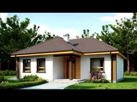 Проекты небольших домов - YouTube