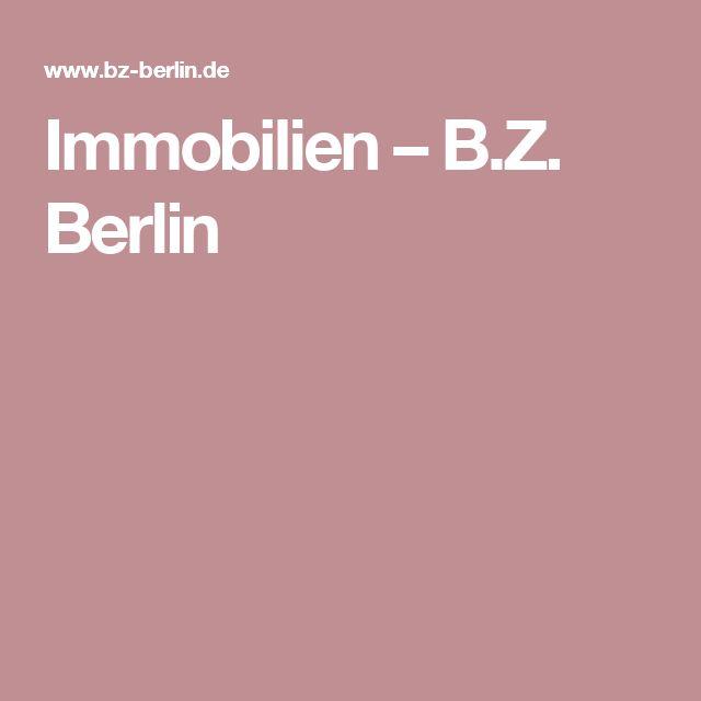 Immobilien –  B.Z. Berlin