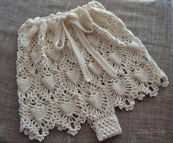 Wedding gift Beach Shorts High waist bikini Crochet Gift for Her Summer Lingerie Garters Boho Fashion Crochet Shorts Ivory Sea #gifts #beach #high #High #waist #bikinis #crochet #giftideas #giftforher #summer #lingerielife #garters #boho #fashion #crocheting #shortstory #ivory #sea