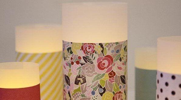 Você pode fazer lanternas de papel decorativas para deixar algum cantinho de sua casa com visual muito mais aconchegante e acolhedor. E a seguir você vai