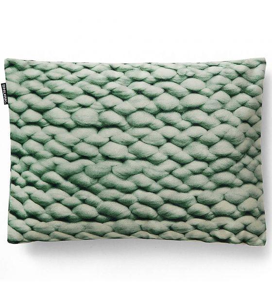 Snurk Beddengoed Sierkussen hoes Twirre minty green, 35x50cm, groen - wonenmetlef.nl
