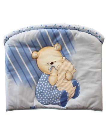 Золотой гусь Мишутка голубой Золотой Гусь  — 1368р. ------------ Голубой бампер Мишутка Золотой Гусь идеально впишется в кроватку размером 120х60 см