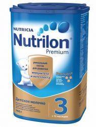 Нутрилон 3 Премиум смесь сухая молочная для детей 900г  — 997р.  Детское молочко Nutrilon® Junior 3- предназначено для питания детей с 12 месяцев.   Цифра «3» в названии молочной смеси означает, что продукт предназначается для питания детей с 12 месяцев.   В каких случаях используется детское молочко Nutrilon® Junior 3 Premium.   Вашему малышу исполнился год. Он активно растет, делает первые самостоятельные шаги и учится общаться с окружающим миром. Иммунная система малыша продолжается…