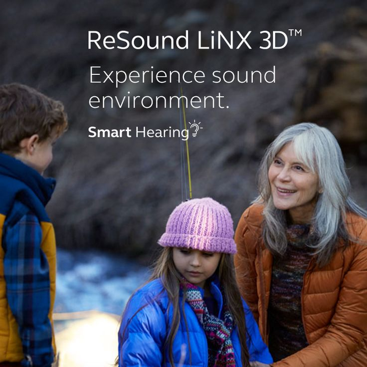 ReSound LiNX 3D Experience sound environment.