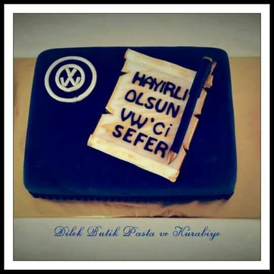 Kisiye ozel pastalar # VW cake