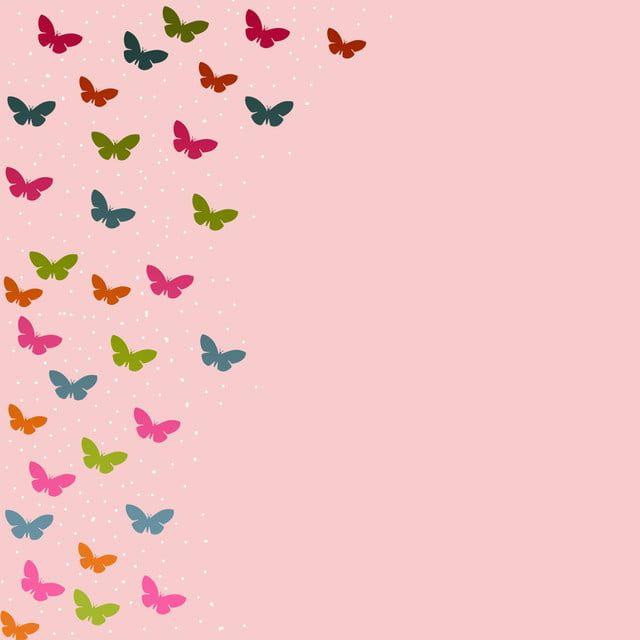 خلفيات فراشات فراشة زاهى الألوان خلفية Png وملف Psd للتحميل مجانا Butterfly Background Butterfly Illustration Butterfly Clip Art