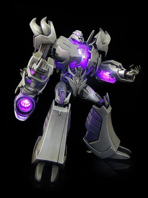 Transformers prime megatron mc flickr photo sharing transformers figures pinterest - Transformers prime megatron ...