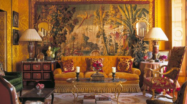 17 best ideas about indian living rooms on pinterest for Colonial reproduction homes for sale