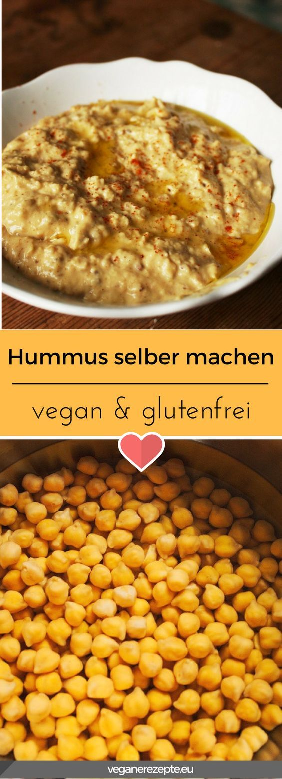 Hummus passt einfach zu allem. Ob als Brotaufstrich, oder als Dip, ich liebe diese Creme aus Kichererbsen. #vegan #glutenfrei #veganfood #vegetarisch #glutenfree #veganfood #hummus #kichererbsen #humus #arabisch #orientalisch #spicy