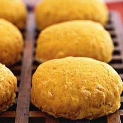 Zoete-aardappelkoekjes