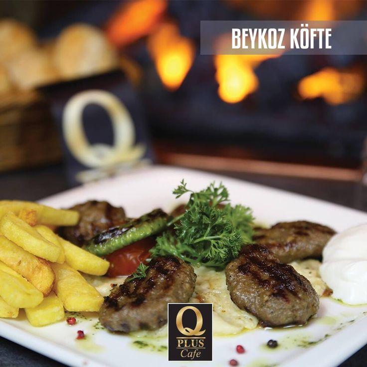 Usta ellerle hazırlanmış Beykoz Köfte'nin yanında patates kızartmasına kim hayır diyebilir ki? :) #Qpluscafe #BeykozKöfte