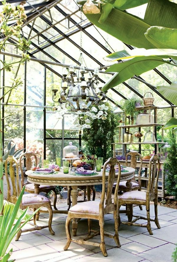 Die besten 25+ Wintergarten Ideen auf Pinterest Solarium Zimmer - schone garten fur sparsame