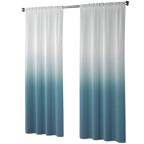 Nuss Ombre Room Darkening Rod Pocket Curtain Panels Reviews Allmodern Rod Pocket Curtain Panels Panel Curtains Rod Pocket Curtains