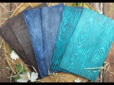 Имитация деревянной поверхности !!! - YouTube