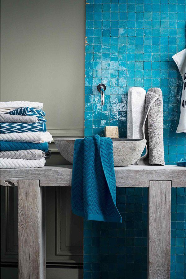 A klasszikusan elegáns fürdőszoba: kék és fehér - Dekoráció - lakaskultura.hu