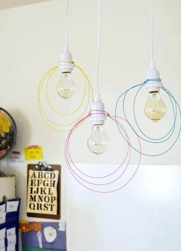 16 Brilliant Lighting Ideas You Can Diy On A Dime Diy Pendant