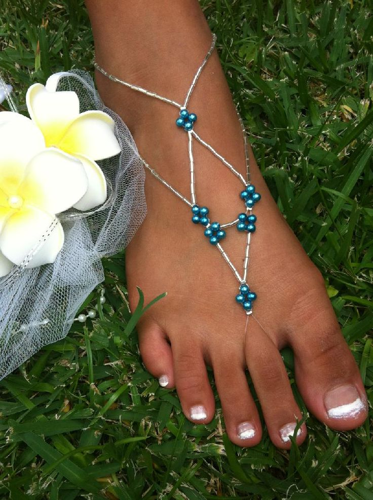 BRIDES MAIDS BAREFOOT SANDALS FOR BEACH WEDDINGS