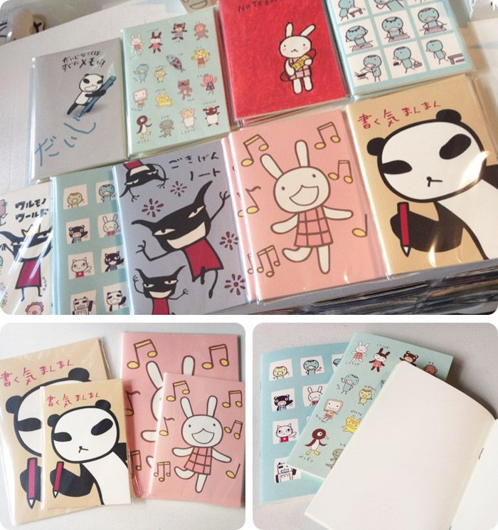 Memo Books by Aranzi Aronzo