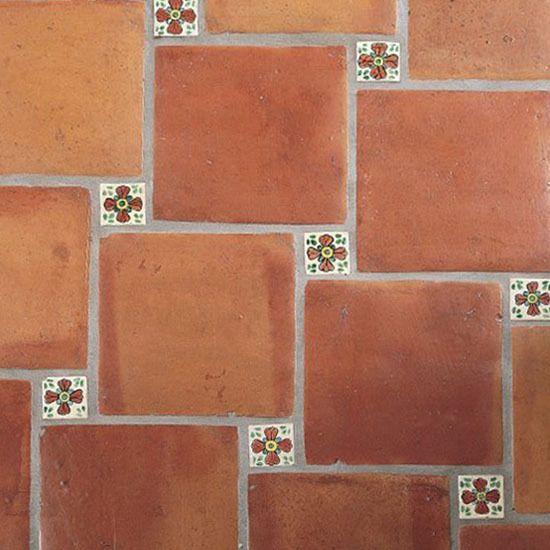 Mexican Rustic Clay Floor Tiles