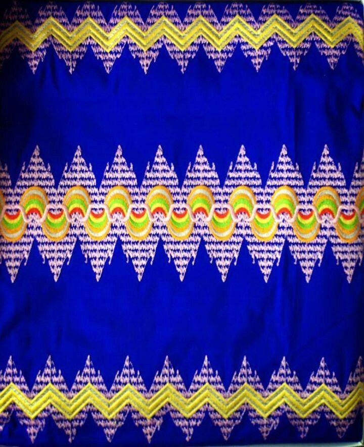 myanmar silk