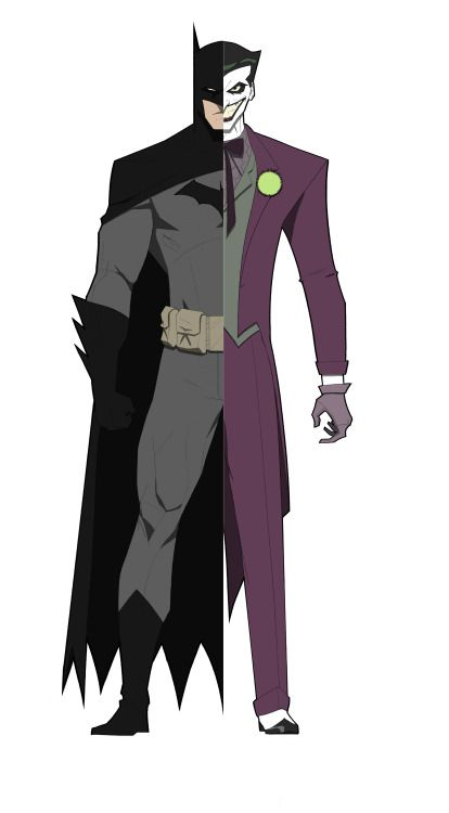 Batman / The Joker - Ryan Gromek