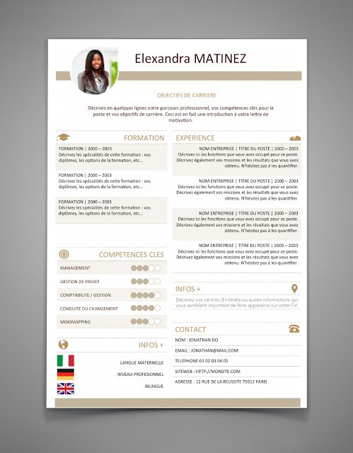 The 25+ best Free resume templates word ideas on Pinterest - modern resumes templates