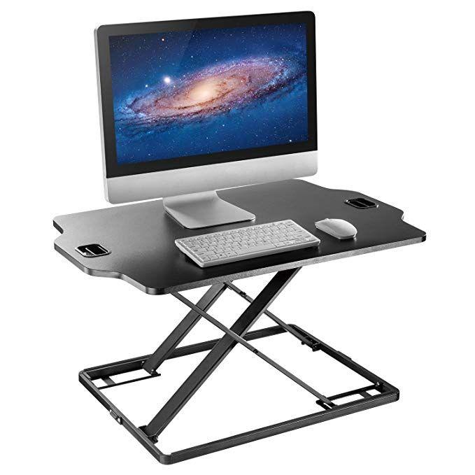 Standing Desk Converter Height Adjustable Sit To Stand Up Desk