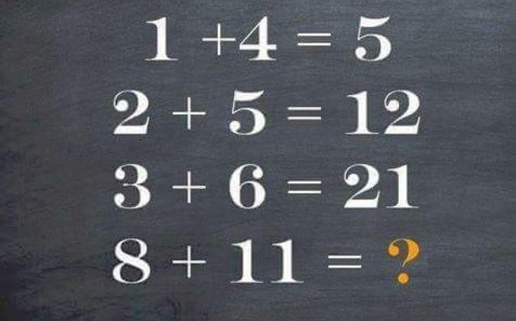 Desafio matemático - Consegue decifrar o enigma? | VIP.pt