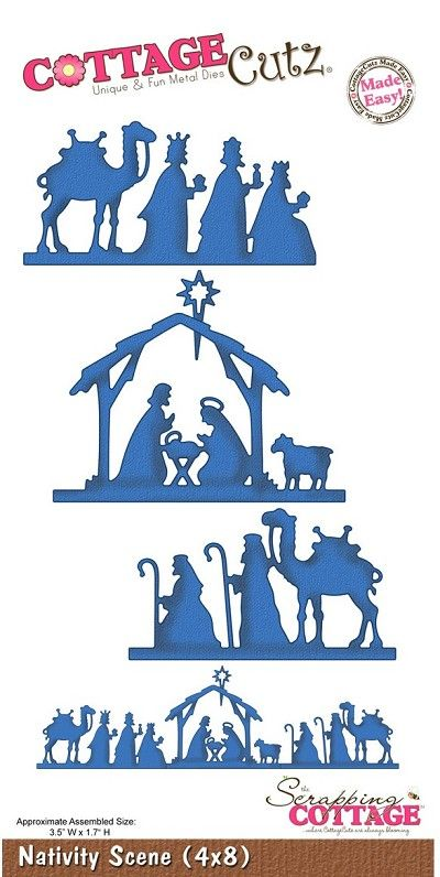 Cottage Cutz - Die - Nativity Scene