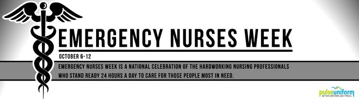 This week is the celebration of Emergency Nurses Week! Emergency Nurses Week is a national celebration of the hardworking nursing professionals who stand ready 24 hours a day to care for those people most in need.