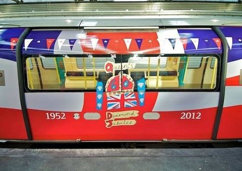 Finally the jubilee line deserves its name! Brilliant idea!