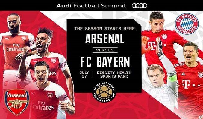 Arsenal Vs Bayern Munich Live Stream Free Watch On Our Website