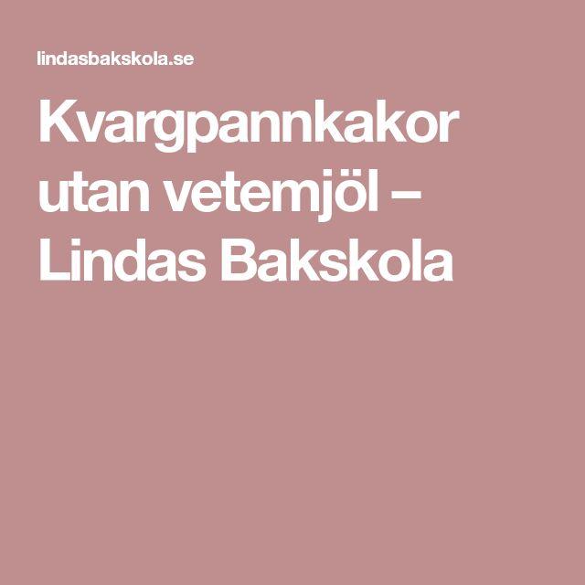 Kvargpannkakor utan vetemjöl – Lindas Bakskola