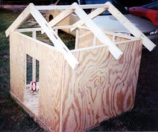 Cheap DIY Dog House - Bing Images