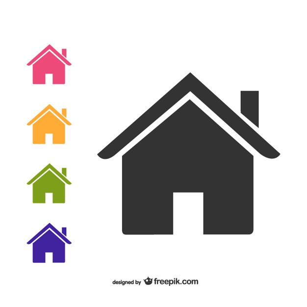 House Icons Pack Home Icon Icon Pack Vector Free