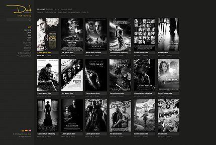 DVD Movies Magento Themes by Mercury